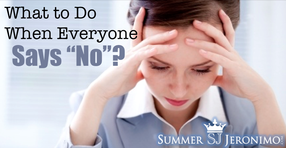 Tips for Network Marketing: What to Do When Everyone Says NO!
