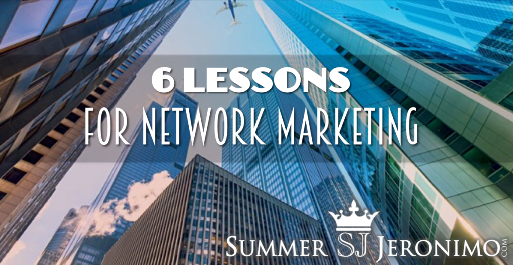6 Best Business Lessons for Network Marketing