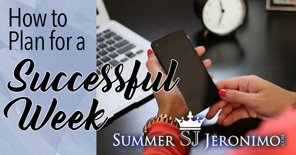 How to Plan for a Successful Week in Network Marketing