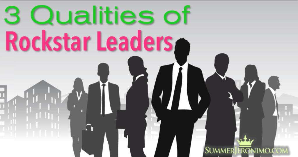 Three Qualities of Rockstar Network Marketing Leaders