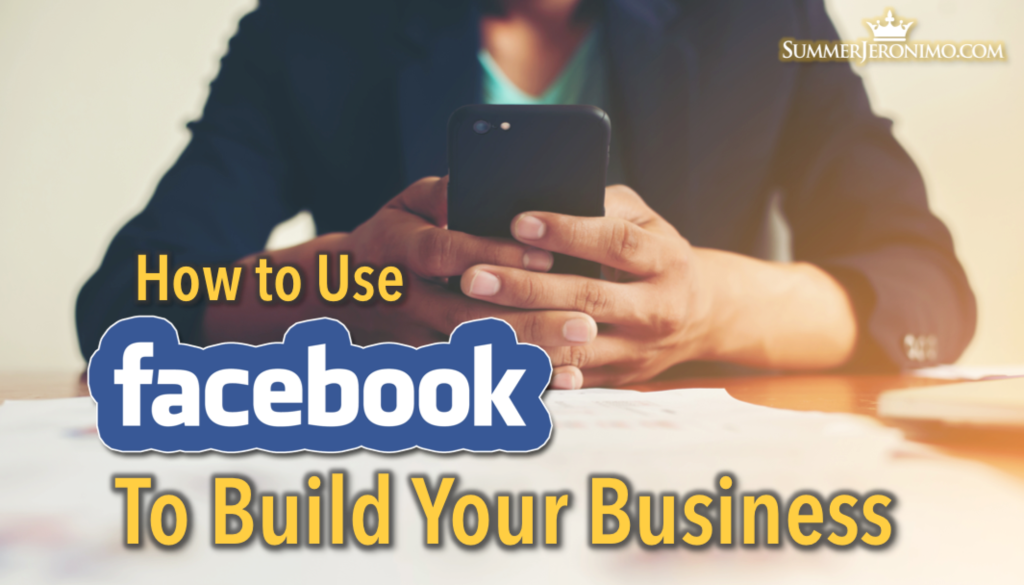 Using Facebook to Reconnect with Friends & Building Your Business!