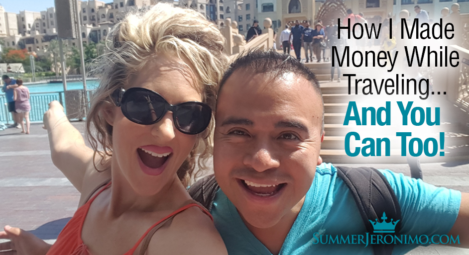 Network Marketing Freedom! How I Made Money While Traveling & You Can Too!