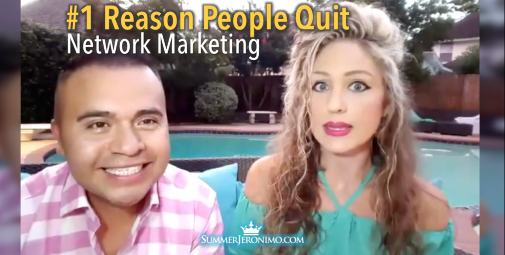 #1 Reason People Quit Network Marketing