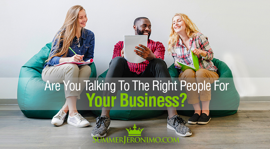 The Big MLM Myth: Are You Talking To the Right People For Your Biz?