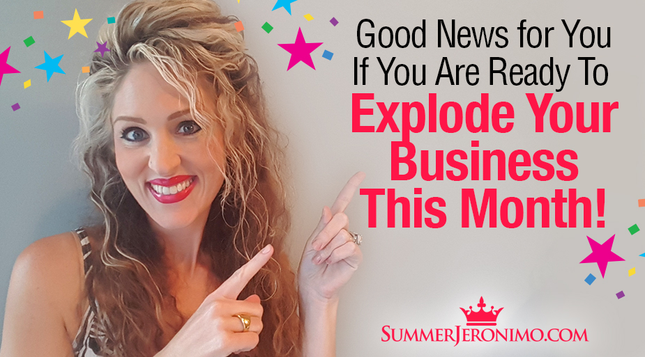 Good News If Your Ready to Explode Your Network Marketing Biz!