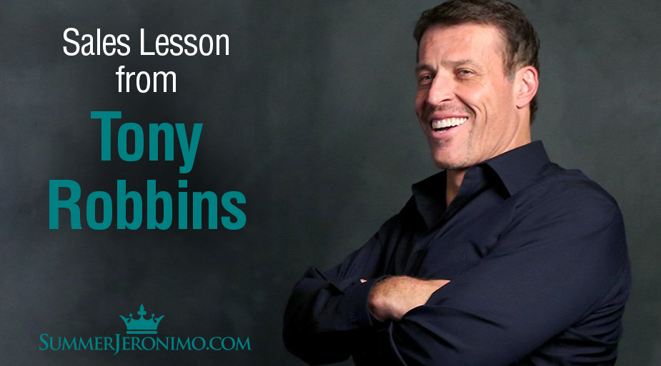 Network Marketing Tips: Sales Lessons from Tony Robbins