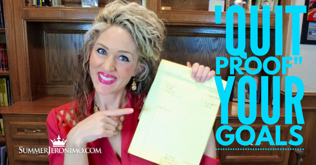 "How to ""Quit Proof"" Your Network Marketing Goals?"