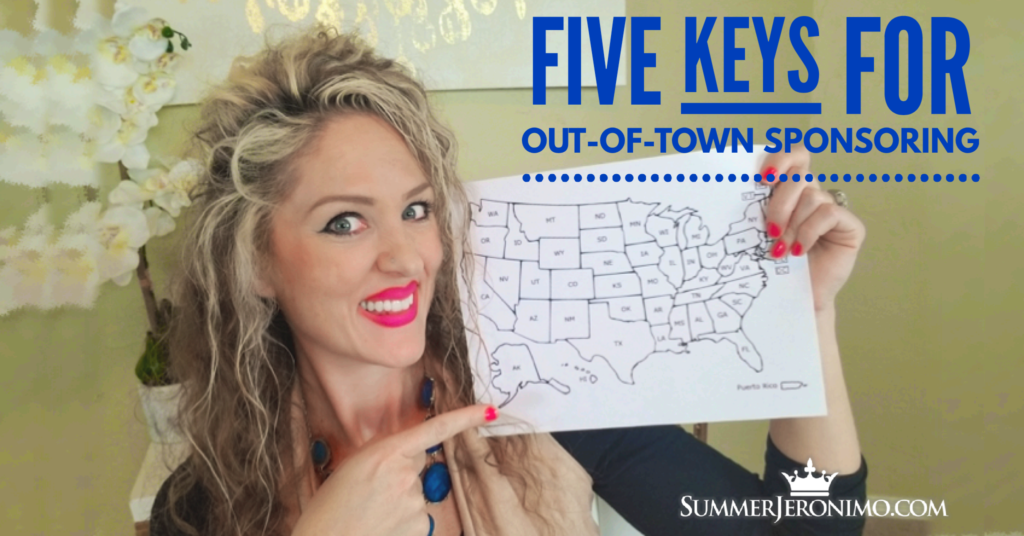 Network Marketing Tips: 5 Keys for Out-of-Town Sponsoring!